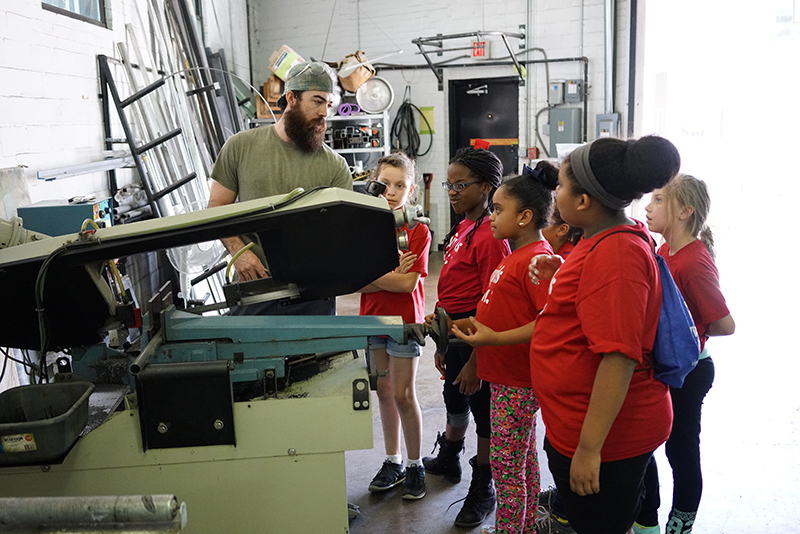 With JC: Learning about fabrication, friction, and measuring