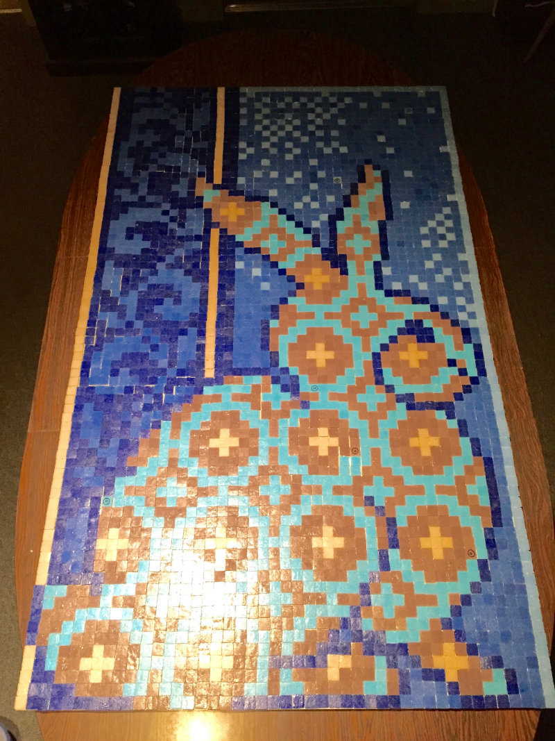 Mosaic Bunny