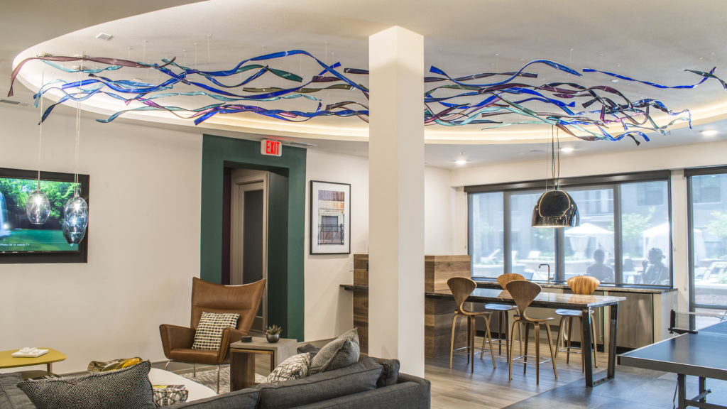 Carlyn Ray Designs Riveredge Ceiling Project Image