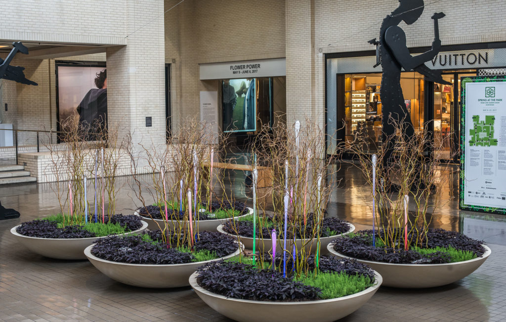 Carlyn Ray Designs NorthPark Cosmic Drops Project Image